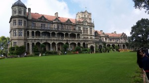 Rashtrapati Nivas, Shimla (Himalaja). Hier wohne ich seit September 2016 als Stipendiat.